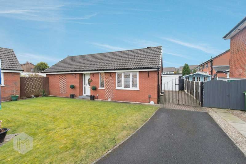 2 Bedrooms Semi Detached Bungalow for sale in Weavers Green, Farnworth, Bolton, BL4