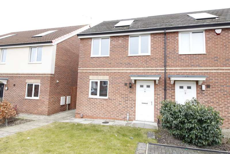 2 Bedrooms Semi Detached House for sale in Reginald Road, Kendray S70
