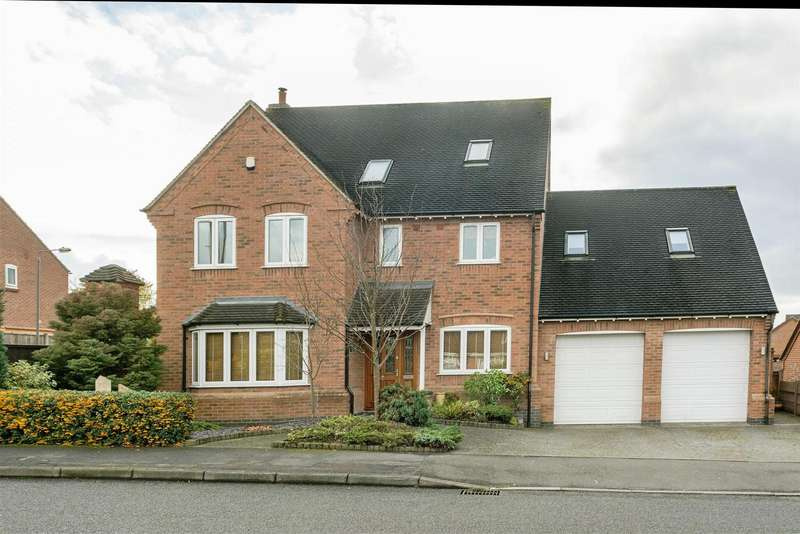5 Bedrooms Property for sale in Gresley Wood Road, Swadlincote