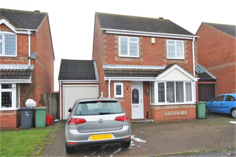 3 Bedrooms Property for sale in Blackett Drive, Heather, Coalville