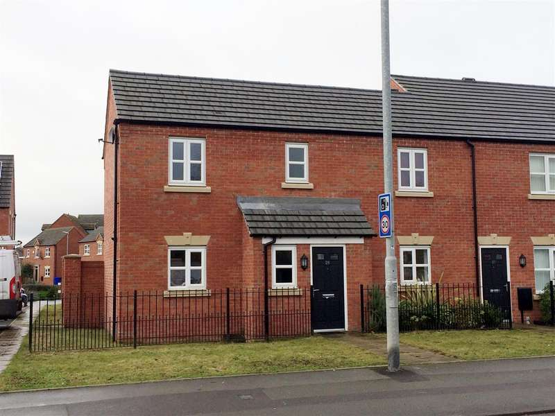 3 Bedrooms Detached House for sale in Horninglow Road, Burton