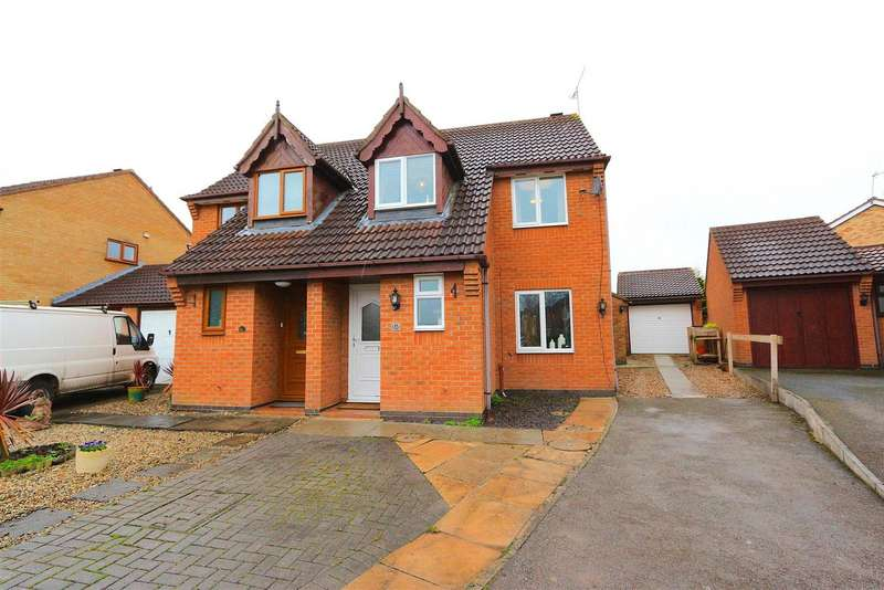 3 Bedrooms Detached House for sale in Acacia Close, Leicester Forest East