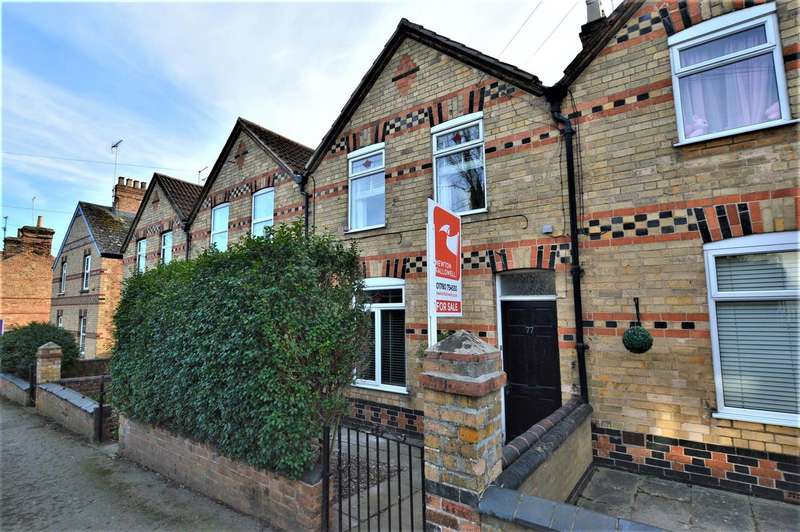 3 Bedrooms Terraced House for sale in Radcliffe Road, Stamford