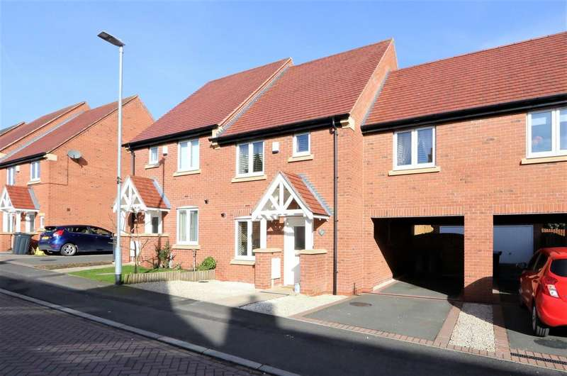 3 Bedrooms Terraced House for sale in Hart Drive, Measham, DE12 7PH