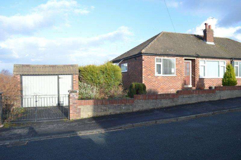 2 Bedrooms Semi Detached Bungalow for sale in Snowden Close, Ripon, North Yorkshire