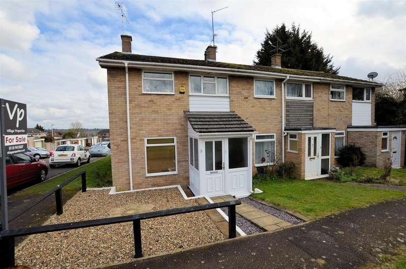 3 Bedrooms End Of Terrace House for sale in Romany Close, Tilehurst, Reading