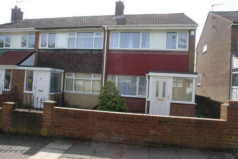 3 Bedrooms Semi Detached House for rent in Oakwood, Leam Lane, Gateshead