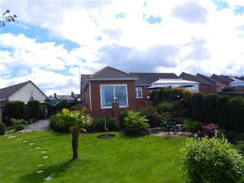 2 Bedrooms Semi Detached Bungalow for sale in 7 Cherry Cottages