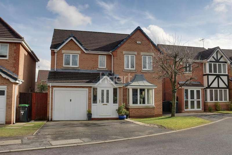 4 Bedrooms Detached House for sale in Ada Place, Hucknall