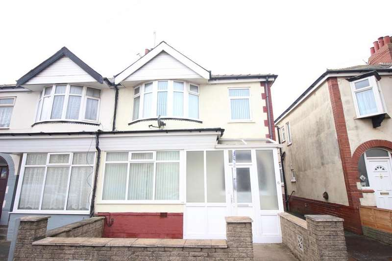3 Bedrooms Semi Detached House for sale in Derby Road, Thornton-Cleveleys