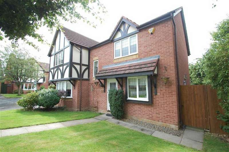 4 Bedrooms Detached House for sale in Parrys Close, Bayston Hill, Shrewsbury