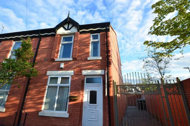 3 Bedrooms End Of Terrace House for sale in Carlton Avenue Rusholme, M14 7Nl Manchester