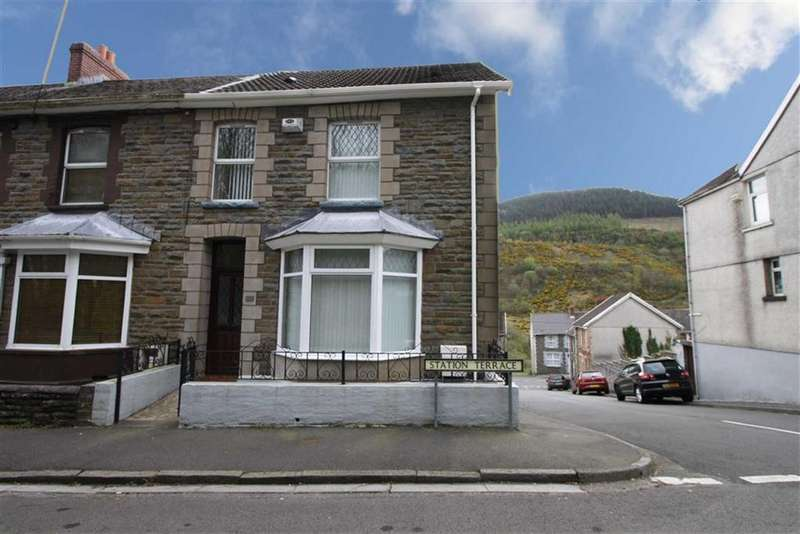 3 Bedrooms End Of Terrace House for sale in Station Terrace, Cwmaman, Aberdare