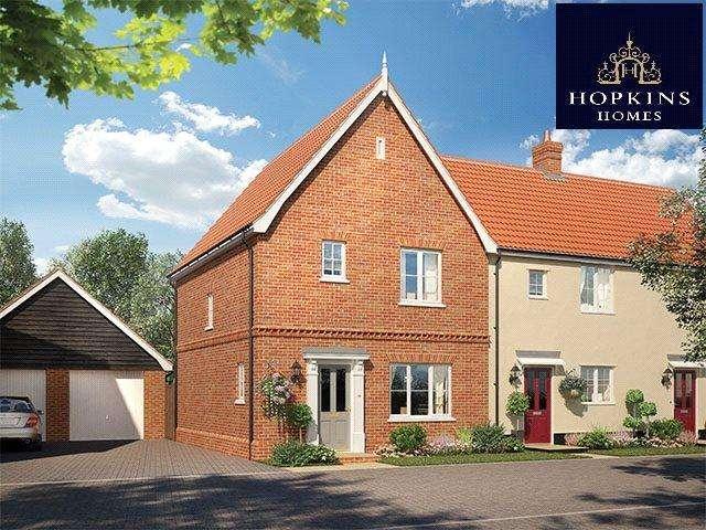 3 Bedrooms Semi Detached House for sale in Alconbury Weald, Alconbury, Huntingdon, Cambridgeshire, PE28