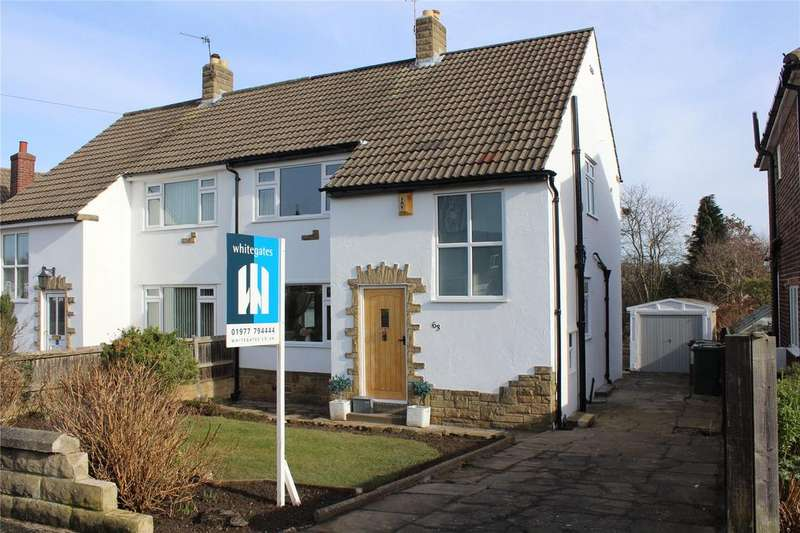 3 Bedrooms Semi Detached House for sale in Lynwood Crescent, Pontefract, WF8