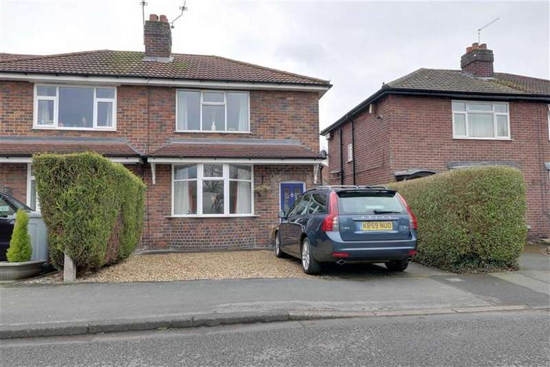 2 Bedrooms Semi Detached House for sale in Blythe Avenue, Congleton