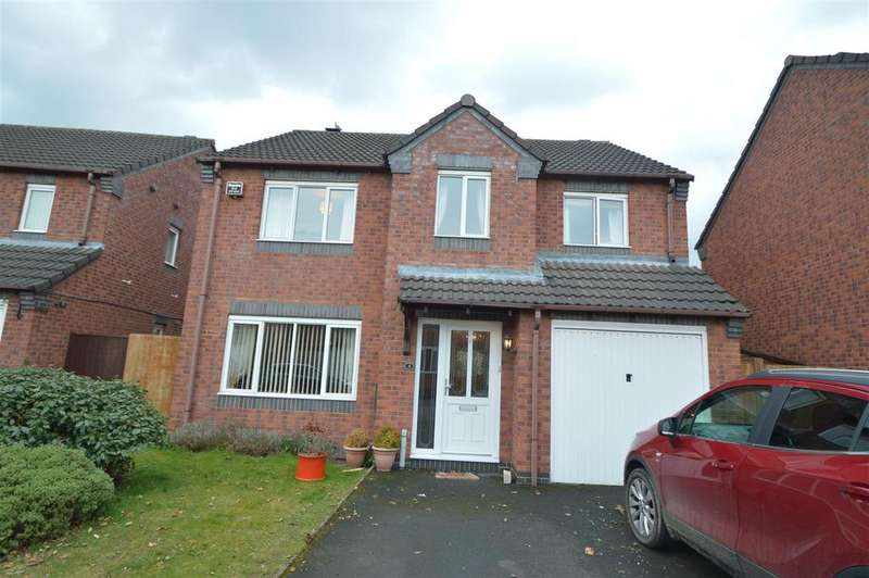 4 Bedrooms House for sale in 4 Corsten Drive, Shrewsbury, SY2 5TJ