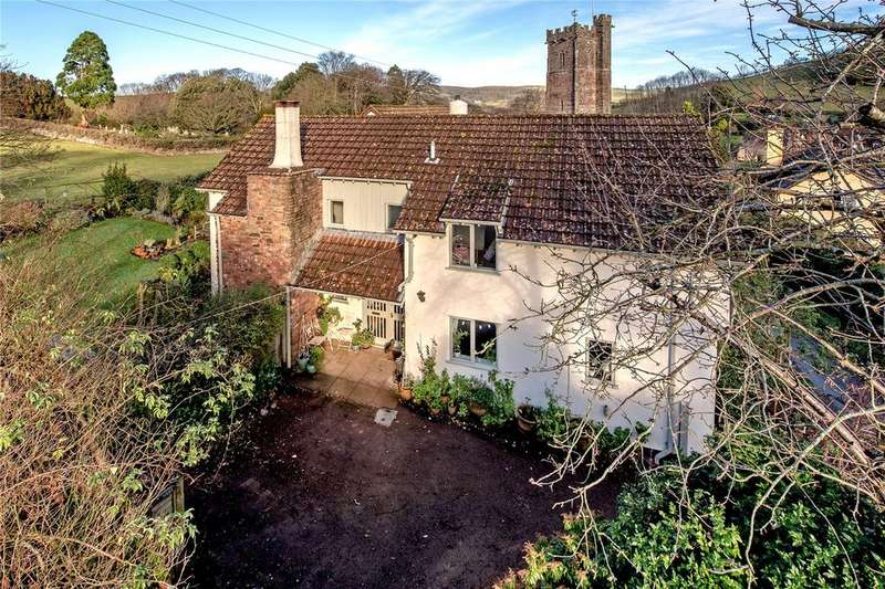 4 Bedrooms Detached House for sale in Luccombe, Minehead, Somerset