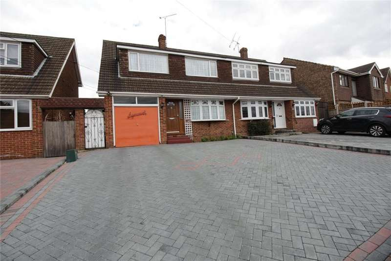 3 Bedrooms Semi Detached House for sale in High Road, Laindon, Essex, SS15