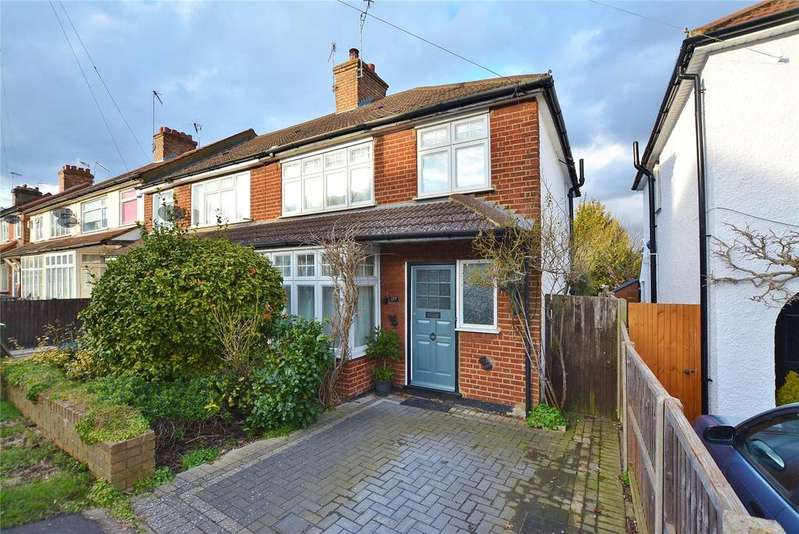 3 Bedrooms End Of Terrace House for sale in Herkomer Road, Bushey, Hertfordshire, WD23
