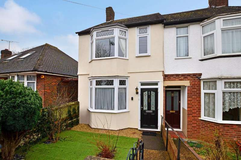 2 Bedrooms End Of Terrace House for sale in Preston Gardens, Round Green, Luton, LU2 7NL