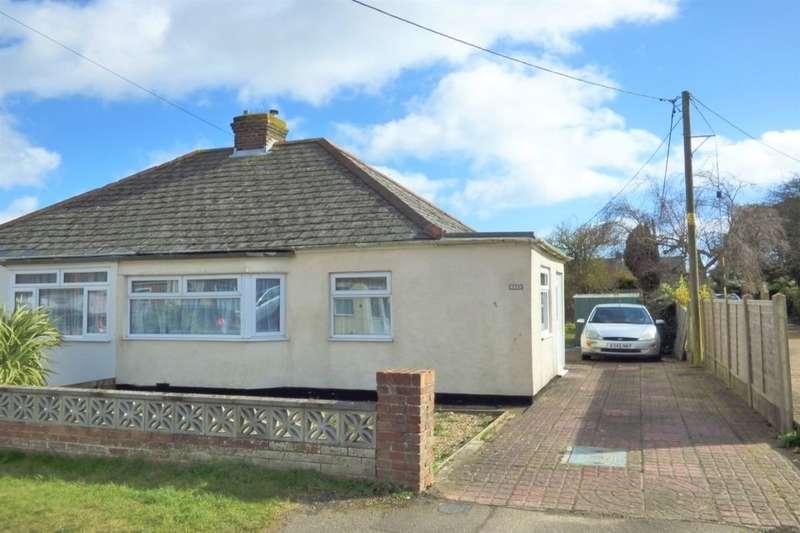 2 Bedrooms Semi Detached Bungalow for sale in Victoria Road, Capel-Le-Ferne, Folkestone, CT18