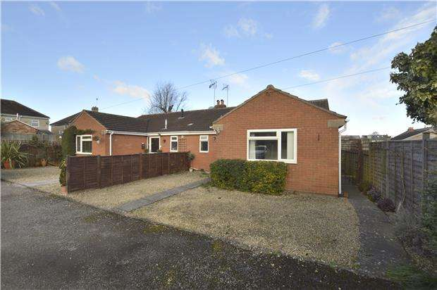 2 Bedrooms Semi Detached Bungalow for sale in Croft Avenue, Charlton Kings, CHELTENHAM, Gloucestershire, GL53 8LF