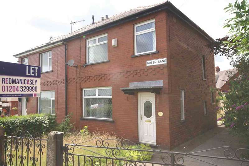 3 Bedrooms Semi Detached House for rent in Green Lane, Horwich