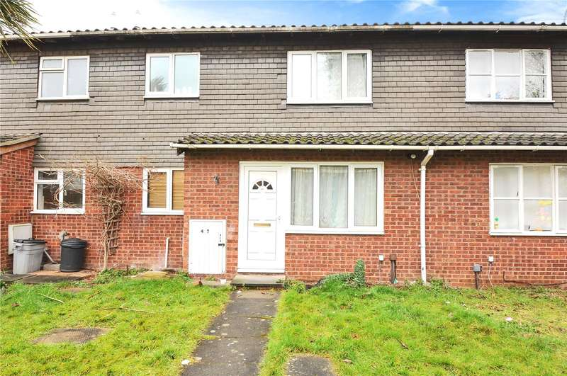 1 Bedroom Terraced House for sale in Ratcliffe Close, Uxbridge, Middlesex, UB8
