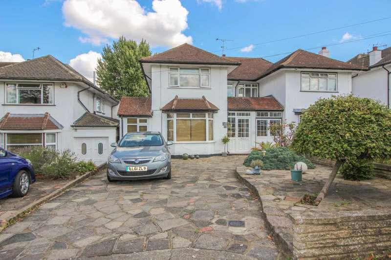 4 Bedrooms Semi Detached House for sale in Raglan Gardens, Oxhey Hall