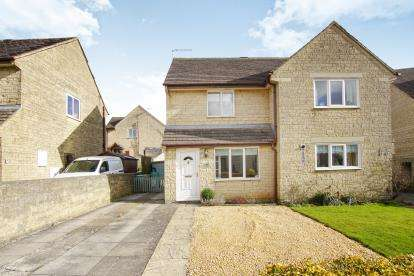 2 Bedrooms Semi Detached House for sale in Longtree Close, Tetbury, Gloucestershire