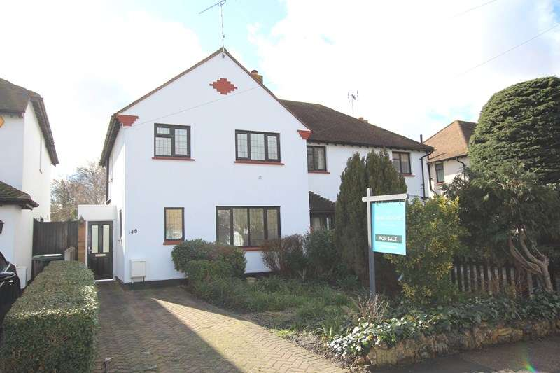 3 Bedrooms Semi Detached House for sale in Bournes Green School Catchment, Thorpe Bay