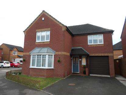 4 Bedrooms Detached House for sale in Belcher Close, Heather, Coalville