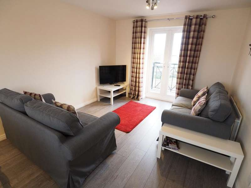 3 Bedrooms Apartment Flat for rent in Lancelot Court, Victoria Dock, Hull, East Yorkshire, HU9 1QD