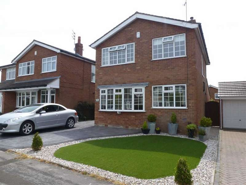 3 Bedrooms Detached House for sale in Bodmin Avenue, Macclesfield