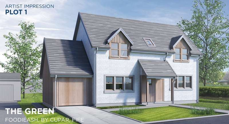3 Bedrooms Detached House for sale in Plot 1 The Green, Foodieash, Fife, KY15