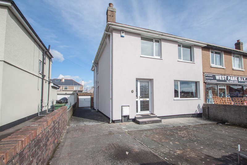4 Bedrooms Semi Detached House for sale in West Park, Plymouth