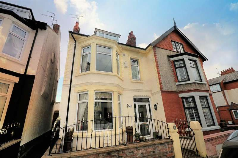 4 Bedrooms Semi Detached House for sale in Pelham Road, Wallasey, CH44 3AD