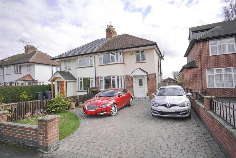 3 Bedrooms Semi Detached House for sale in Tollerton Lane, Tollerton, Nottingham
