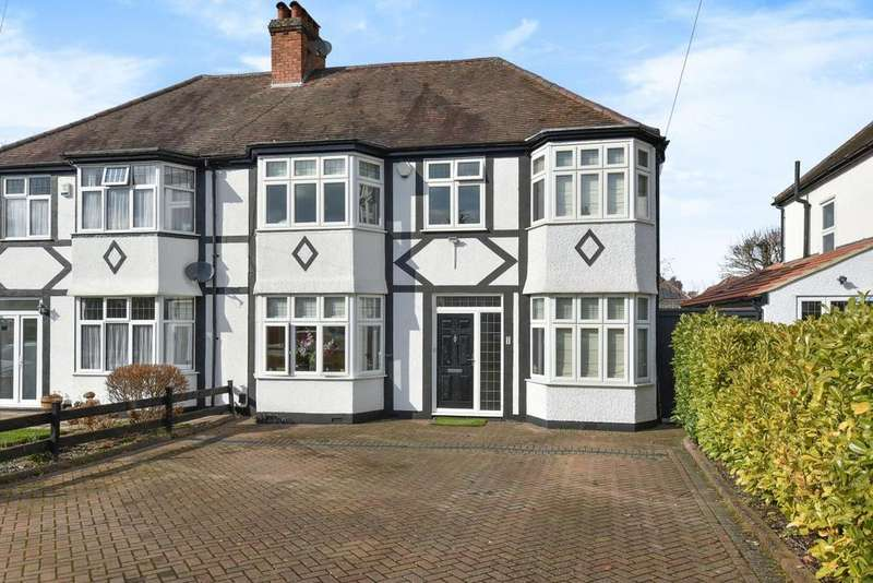 4 Bedrooms Semi Detached House for sale in Wickham Chase, West Wickham