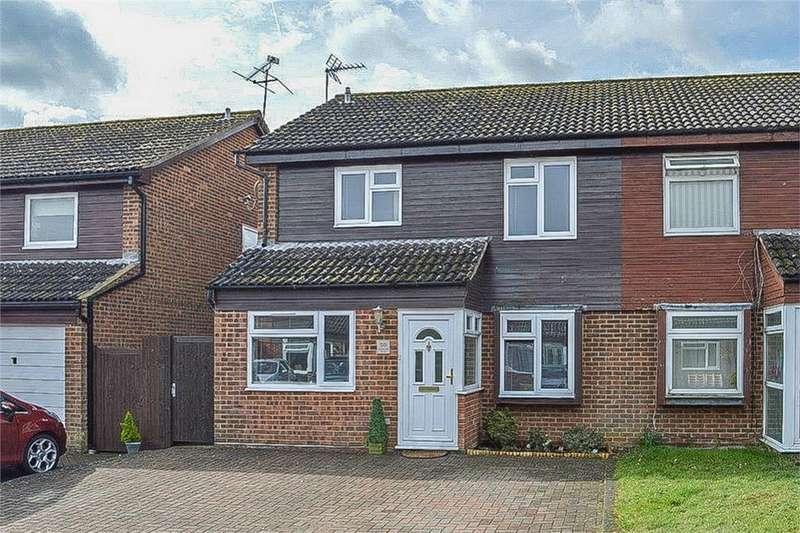 4 Bedrooms Semi Detached House for sale in Wentworth Drive, BISHOPS STORTFORD, Hertfordshire