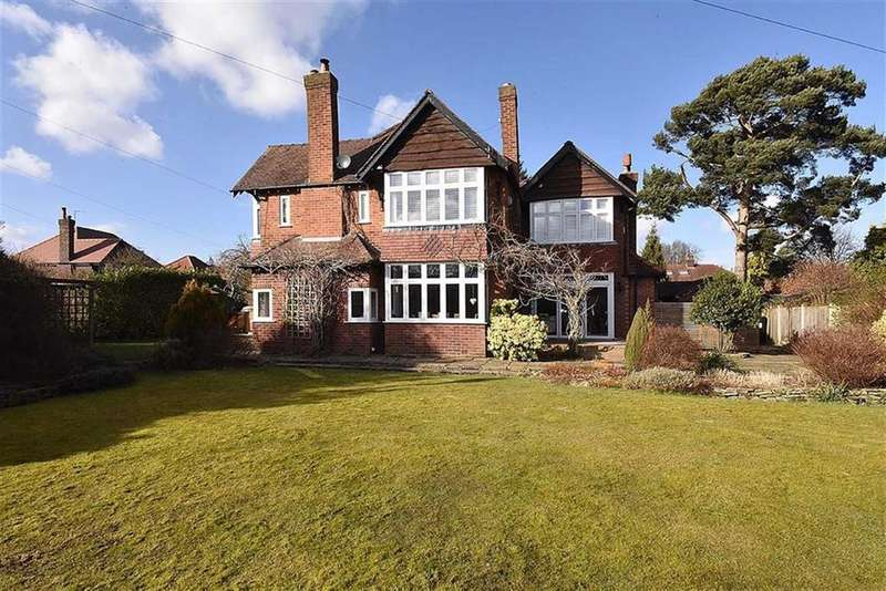 4 Bedrooms Detached House for sale in Fairbourne Drive, Wilmslow