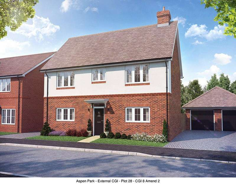 4 Bedrooms Detached House for sale in Aspen Park, Haddenham, Aylesbury, Buckinghamshire, HP17