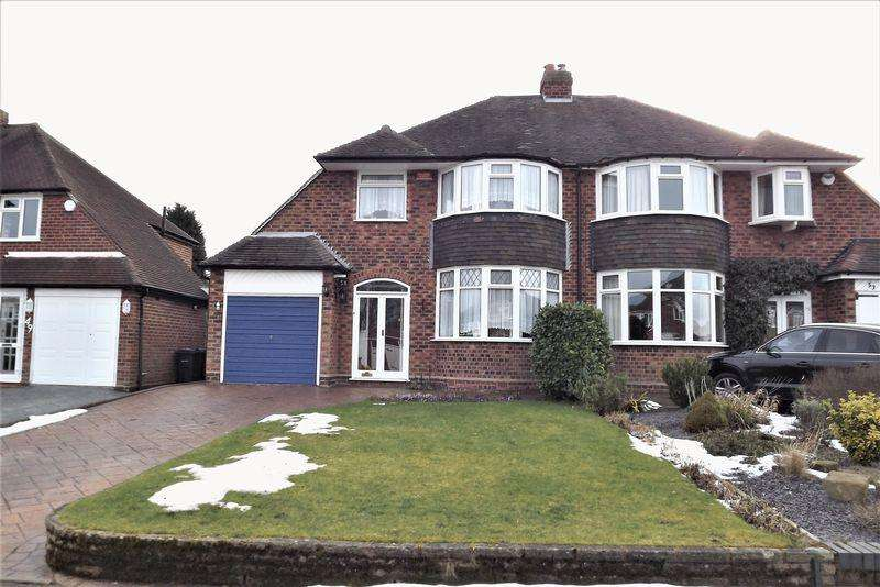 3 Bedrooms House for sale in Denholm Road, Boldmere, Sutton Coldfield