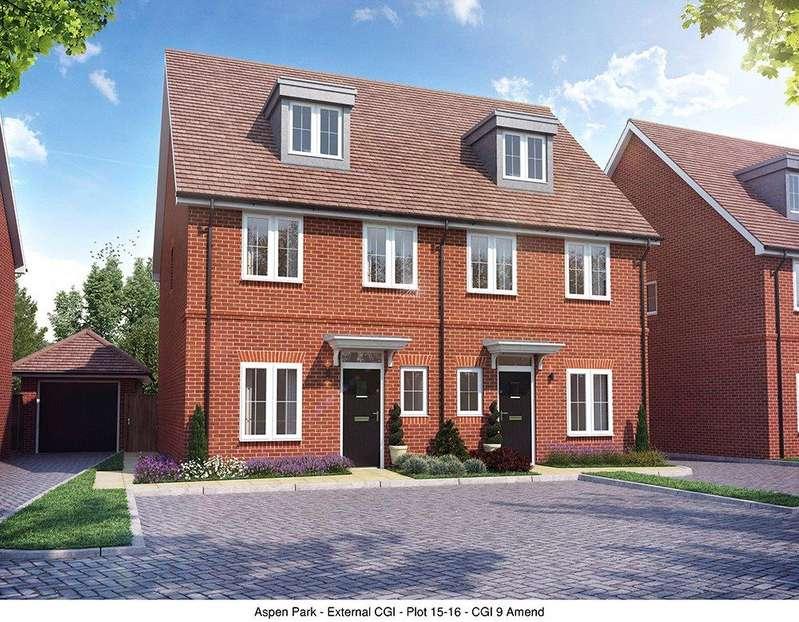 4 Bedrooms Semi Detached House for sale in Aspen Park, Haddenham, Aylesbury, Buckinghamshire, HP17