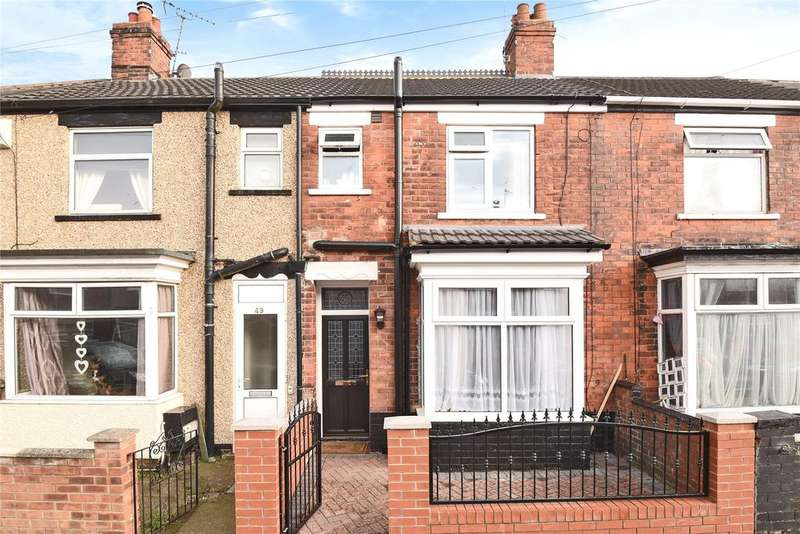 2 Bedrooms Terraced House for sale in Lawson Avenue, Grimsby, DN31