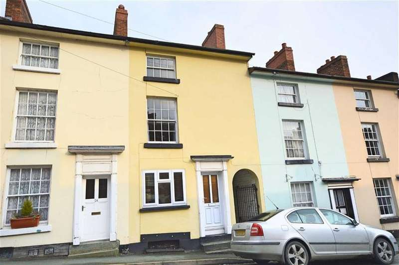 3 Bedrooms Terraced House for sale in 25, Crescent Street, Newtown, Powys, SY16