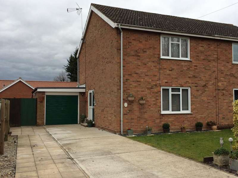 2 Bedrooms Semi Detached House for sale in Robinson Close, Bury St Edmunds IP33