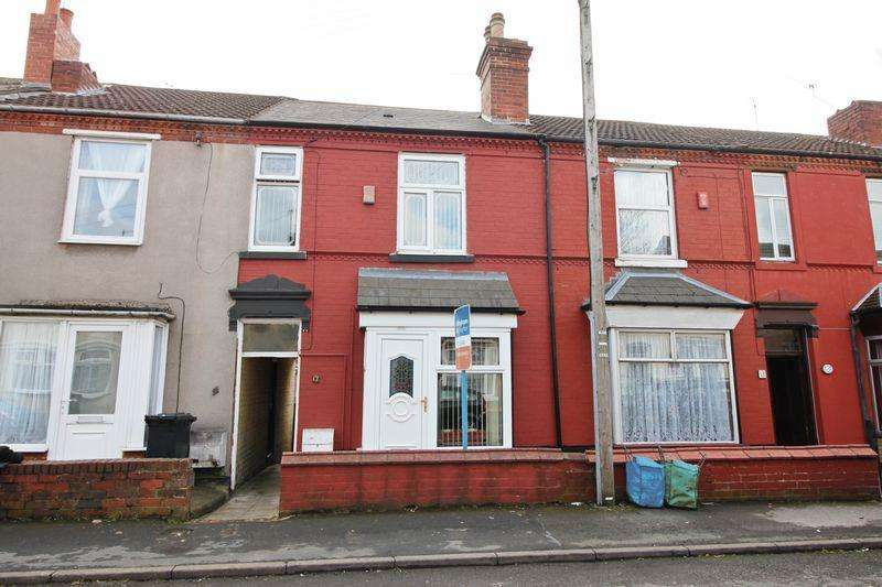 3 Bedrooms Terraced House for sale in 17 Ivanhoe Street, Dudley, DY2 0YB
