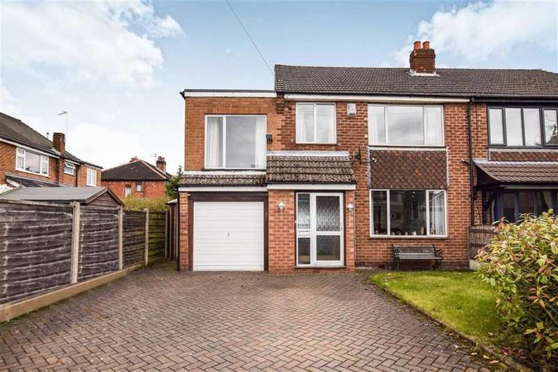 3 Bedrooms Semi Detached House for sale in Holly Close, Timperley, Cheshire, WA15
